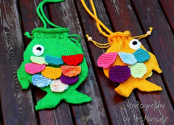 Knitting Bag Patterns Beginners : Bag, Purse and Tote Free Knitting Patterns In the Loop ...