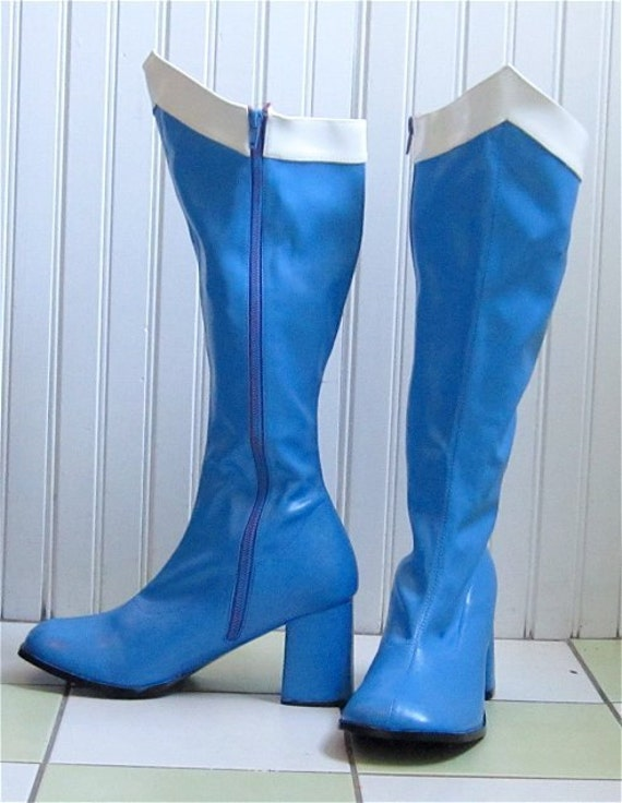sailor moon mercury boots by catziascollectibles on etsy