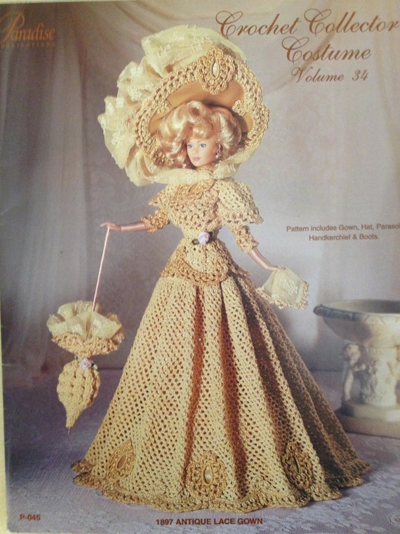 Vintage Crochet Barbie Pattern Paradise by HFWesternSupplies