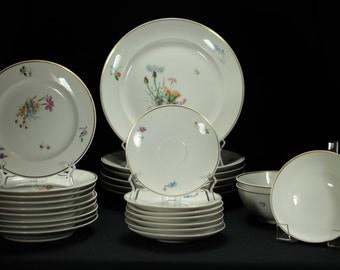 Royal Copenhagen Primavera Porcelain Dinnerware Set, 25 Pieces
