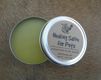 Healing Salve for Pets // All Natural Organic Pet Care