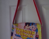 Wonder Woman Reversible Toddler Messenger Bag