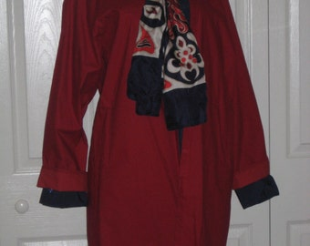 Lovely mordant red lite weather coat