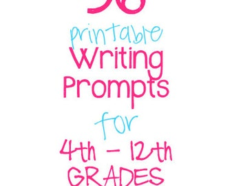 essay prompts for eighth graders Narrative eighth-grade practice prompt #1: books, movies, and television can offer opportunities to learn valuable lessons write about a lesson learned from a book.