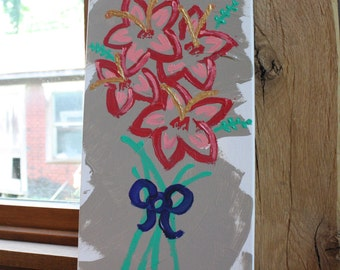 Flower Original Acrylic Painting