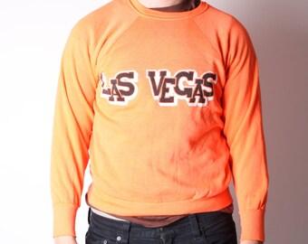 Vintage Las Vegas Neon Day Glo Sweatshirt