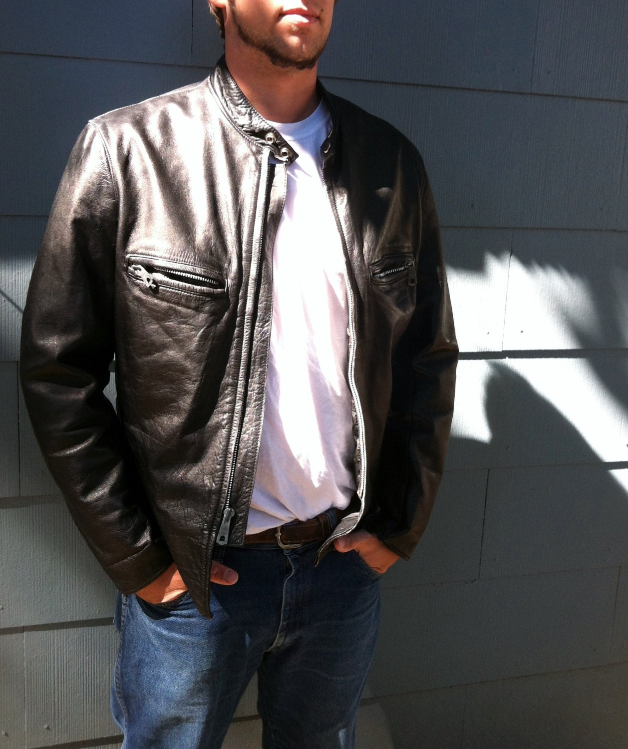 Bad Ass Leather Jacket 112