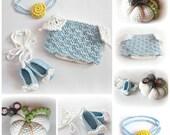 Crochet PATTERN Cinderella Princess Diaper Cover Set Photography Prop Instant Download