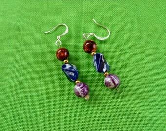 Vintage Fishhook Earrings (Item 763)