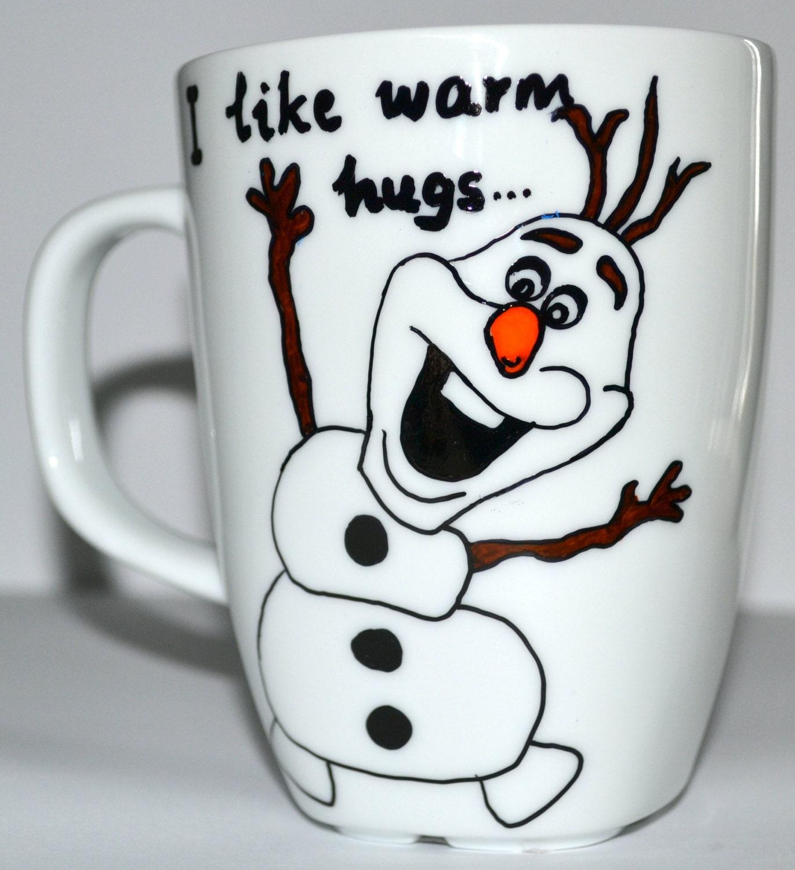 Disney Frozen OLAF Coffee Mug Christmas Gift I by DreamAndCraft