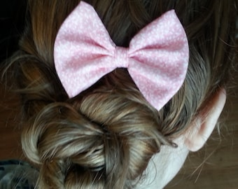 Pretty in Pink Hair Bow