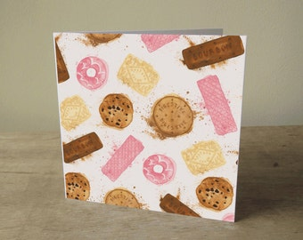 Illustrated Card: Biscuits!