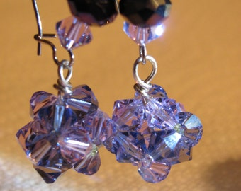 LIZ Swarovski Dangle Earrings