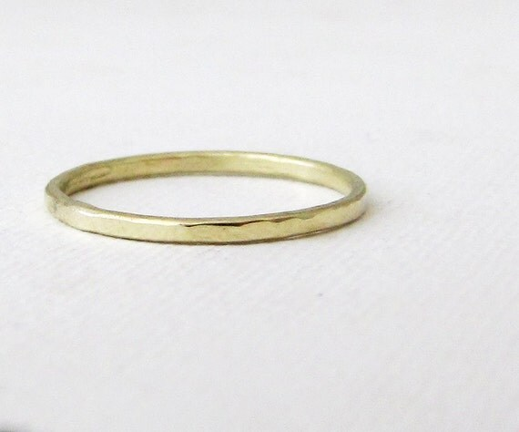 thin gold band green gold wedding ring s wedding