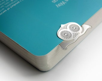 Snowy owl Bookmark: Uggly - Always on your side