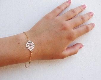 Judaica Jewelry, Shema Israel Bracelet, Goldfilled bracelet, Judaica Gold bracelet, Gold Shema Bracelet, Rosh hashana gift ,Gold Shema .