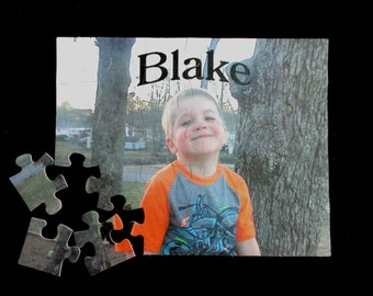 "PHOTO PUZZLE Personalized Puzzle Custom made 7 1/2"" x 9 1/2"" Great Gift!!!! One -of-a-kind"