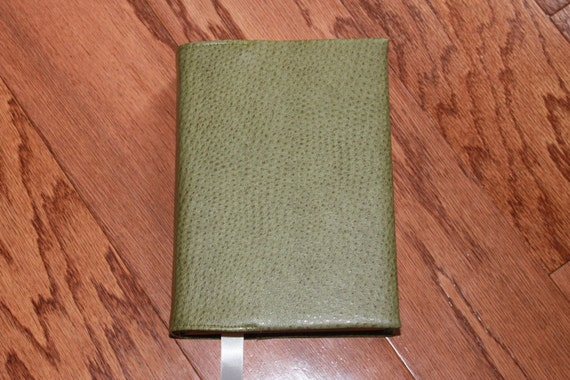Leather Book Cover Material ~ Faux leather book cover custom fitted to your dimensions