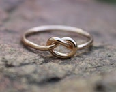 sterling silver rings knot rings bridesmaid by