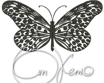 MACHINE EMBROIDERY FILE - Butterfly