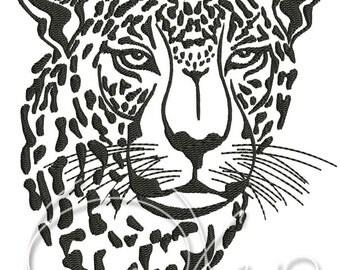 MACHINE EMBROIDERY FILE - Leopard