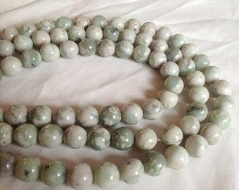 Peace Jade Beads - 6mm