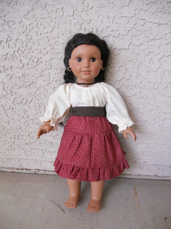 items similar to american girl doll clothes josefina outfit 3 pieces on etsy. Black Bedroom Furniture Sets. Home Design Ideas