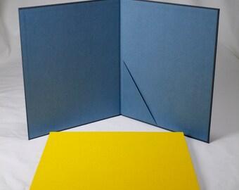 Clothbound Portfolio Presentation Folder