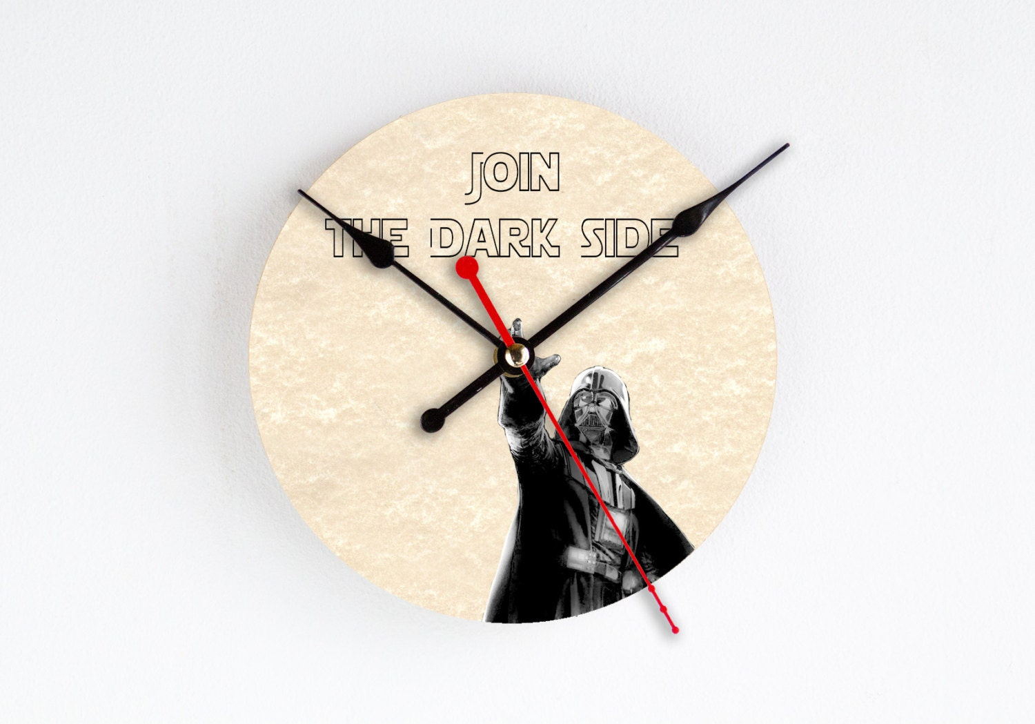 Darth Vader Wall Clock Star Wars Wall Decor Home Decor Rare