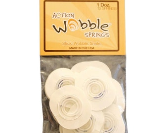 Action Wobble Spring 12/Pkg ~ 1.1/4 x 1.5 inches  AWS012 ~