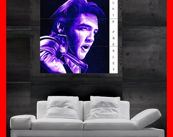 Elvis Presley THE King jailhouse rock Colorful  Poster print art  HH10507 S38