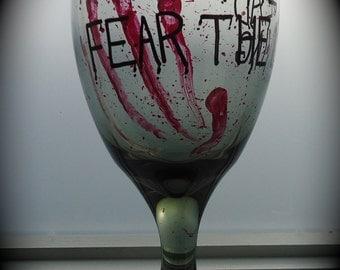 Zombie wine glass