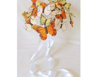 A Subtle Beauty - Elegant butterfly bridal bouquet
