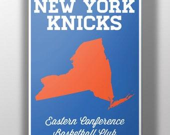 New York Knicks Minimalist Print