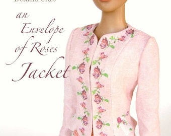 Sewing pattern for 16 inch fashion dolls: Roses Jacket