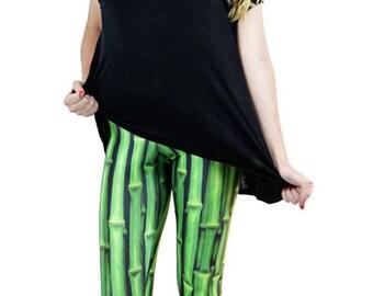 New designer leggings - Funkyleggzis bamboo - sizes s, m, l, xl