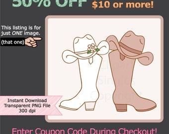 Cowboy Boots Wedding Clip Art Galleryhipcom The