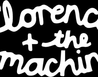 Florence and the Machine Die Cut Vinyl Decal