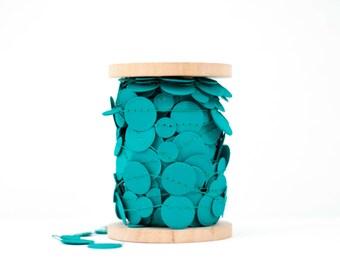 Emerald Paper Garland