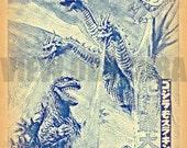 Ghidorah: The Three-Headed Monster - Godzilla - Movie Poster Print