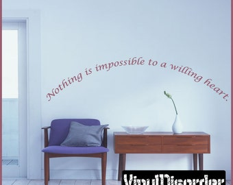 Willing Quotes Etsy