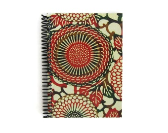 Japan Chrysanthemums - Cute Notebook Spiral Bound - 5x7 in