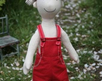 Arthur Cabbage : boy doll sewing pattern