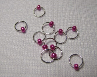 Love Potion - Ten Sock/Lace Snagless Stitch Markers