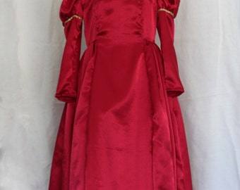 Red Renaissance Princess Dress