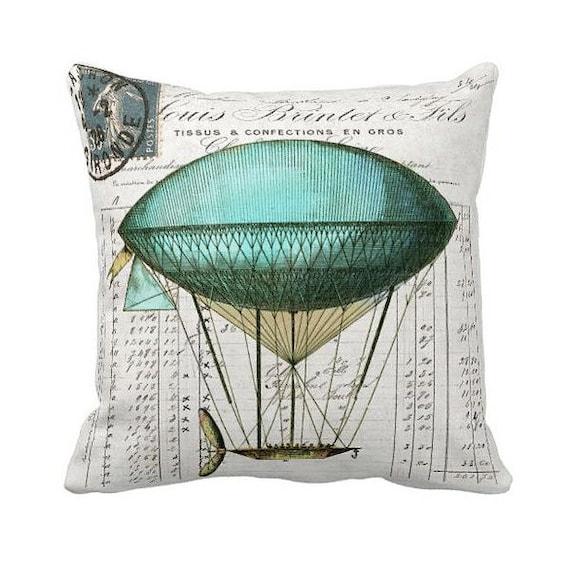 Pillow Cover Hot Air Balloon