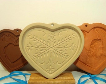 Anniversary Heart Cookie Mold Clay Bake Leafy Star Cookies Valentine
