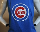 1987 Chicago Cubs Illinois baseball sports NLB 50/50 unisex tank top - men's sz S/M