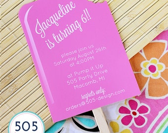 Popsicle Invitation - Printable Popsicle Party Invitation by 505 Design