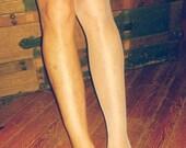 NIP Vintage National's Nylons Stockings Size 10 Medium Off White Sheer